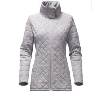The North Face Caroluna fleece lined quilted jacket